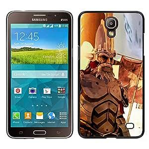 EJOY---Cubierta de la caja de protección la piel dura para el / Samsung Galaxy Mega 2 / --Guerra héroe de edad