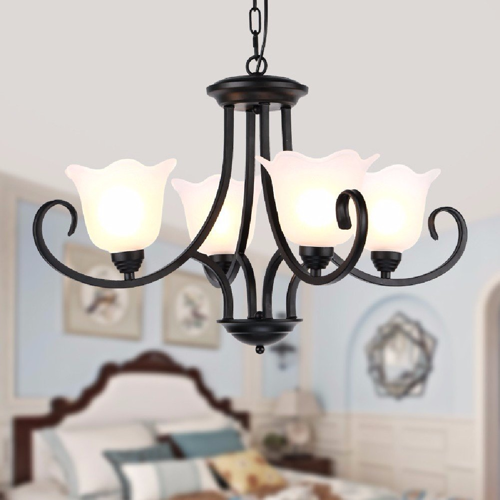 HQLCX Chandelier American Country Retro Restaurant Chandelier by HQLCX-Chandeliers (Image #1)
