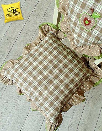 Cuscino per sedia Angelica Home & Country Collezione Mele in ...