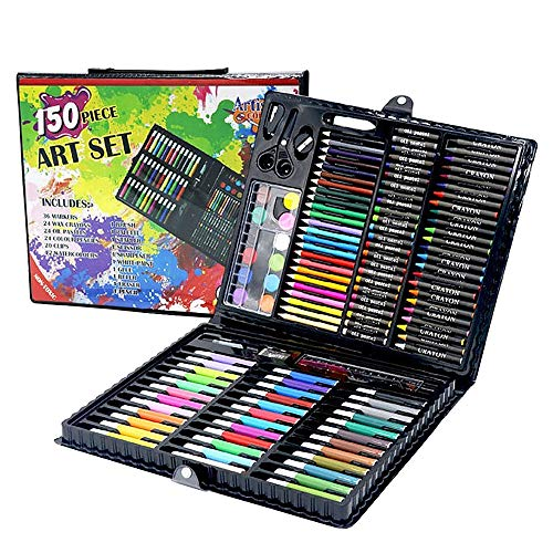 YASSUN 150 Sets of Children's Watercolor Pens, Brush Set Gift Boxes, Painting Kits for Artists and Beginner Painters