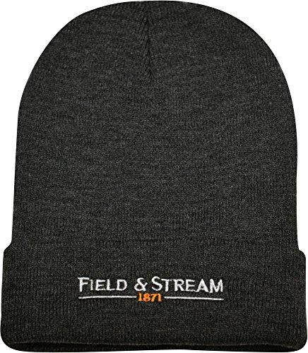 Field & Stream Men's Knit Beanie (Charcoal Heather, OneSize)