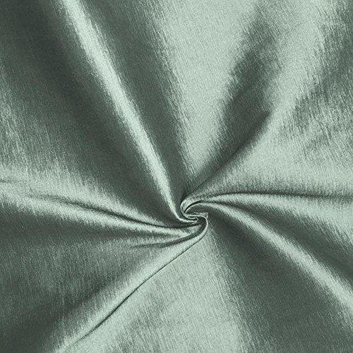 (Medium/Light Weight Stretch Taffeta Fabric By The Yard (Light Silver ST-30))