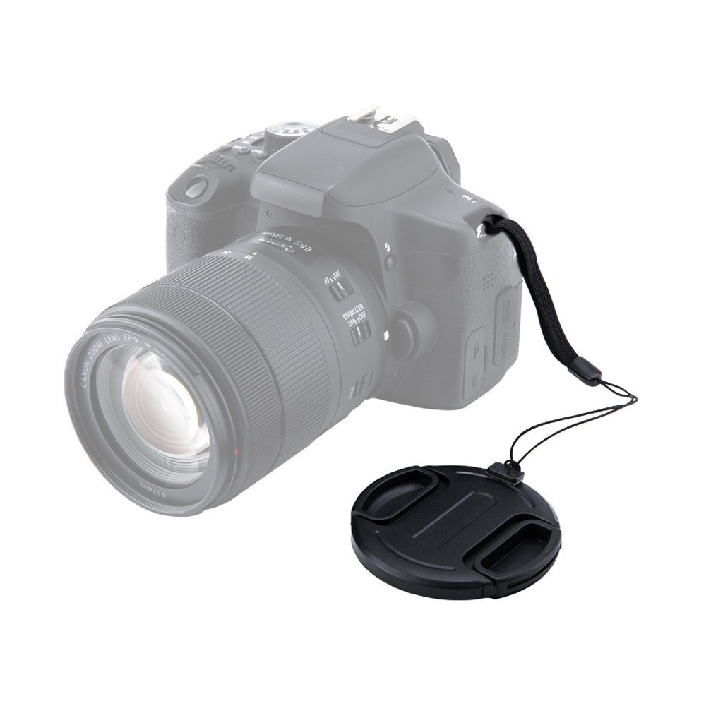 39mm Center Snap-on Lens Cap JJC Camera Front Lens Cover for Canon Nikon Fuji Fujifilm Strong /& Flexible Springs Replaces Original Cap Perfectly Fit Unique Design Camera Lens with Free Lens Cap Keeper