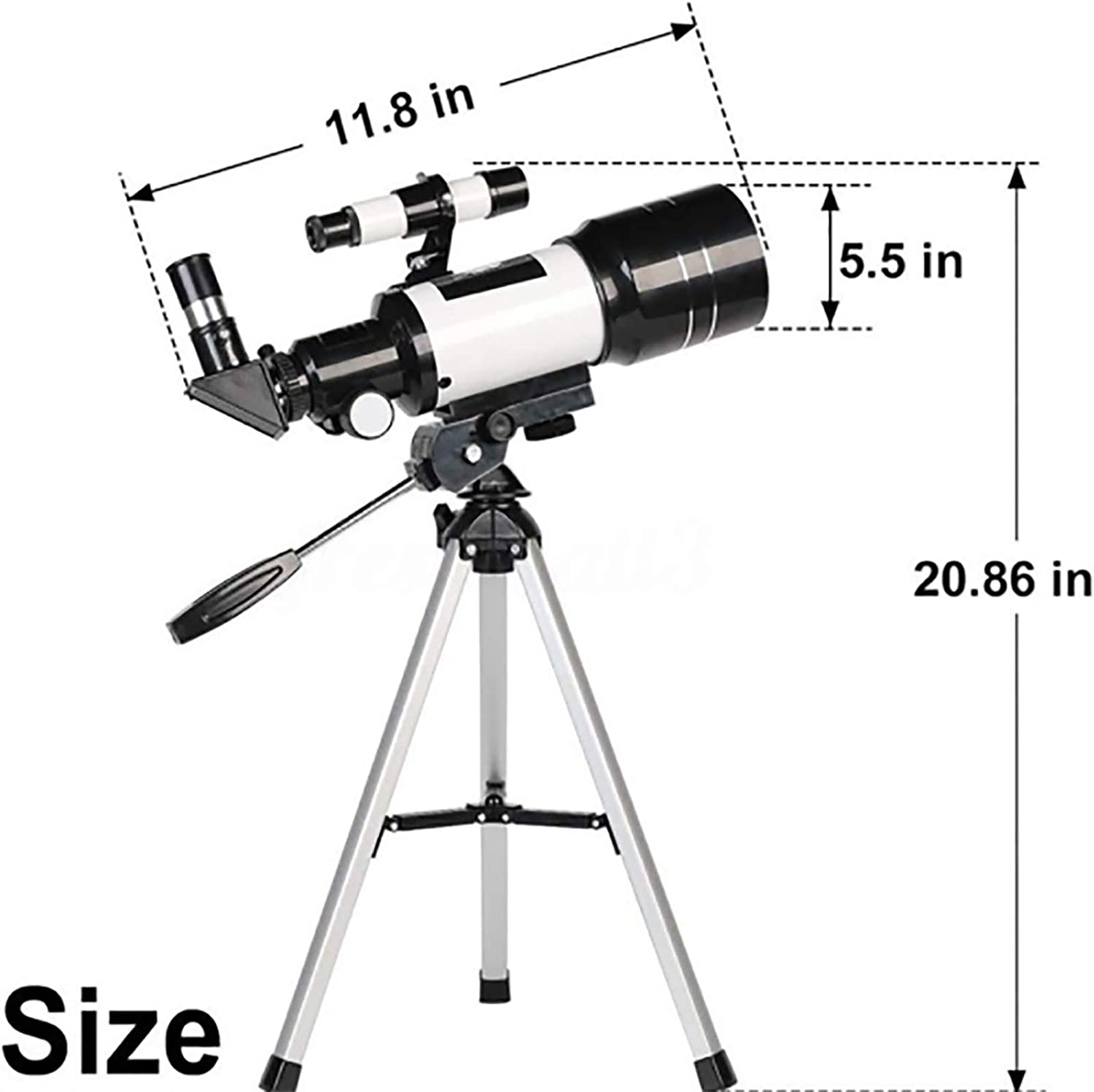 Inforin Telescopes for Adults High Definition Telescope Telescopes for Adults Astronomy Space Telescope Telescope for Adults Telescope for Adults with Finder Scope /& Tripod for Stargazing T1J6