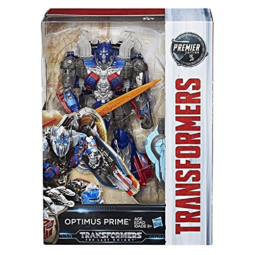 Hot Rod Rodimus Prime (Shalleen TRANSFORMERS MV5 THE LAST KNIGHT VOYAGER OPTIMUS PRIME PREMIER EDITION FIGURE)