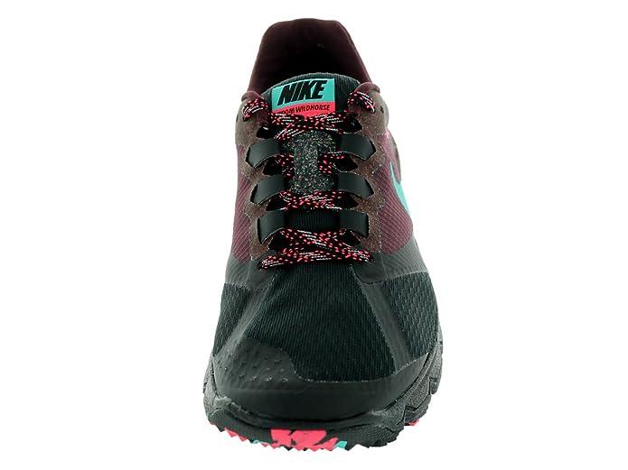 89b273ba657b72 Nike Women s Air Zoom Wildhorse 2 Blk Hypr Jd Dp Brgndy Hypr Pnc Running  Shoe 5. 5 Women US  Amazon.in  Shoes   Handbags