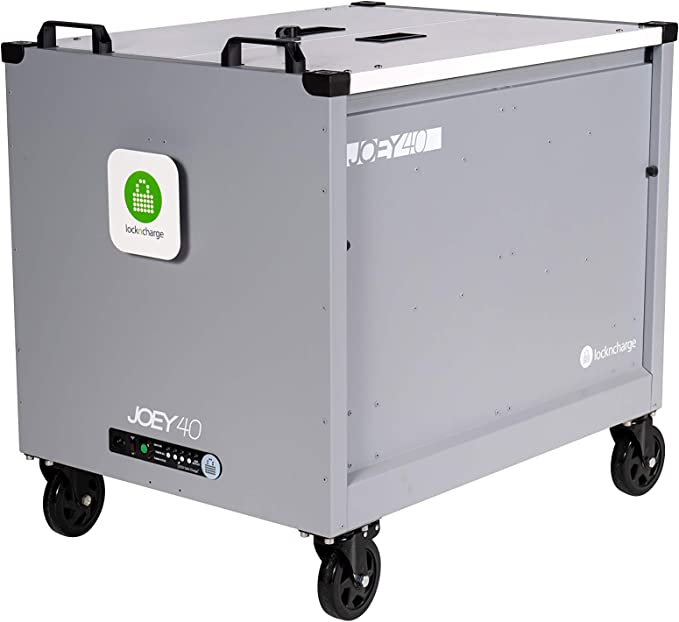 LocknCharge Carrier 20 with Baskets 10129 Grey - 27.8 x 19.2 x 27.8