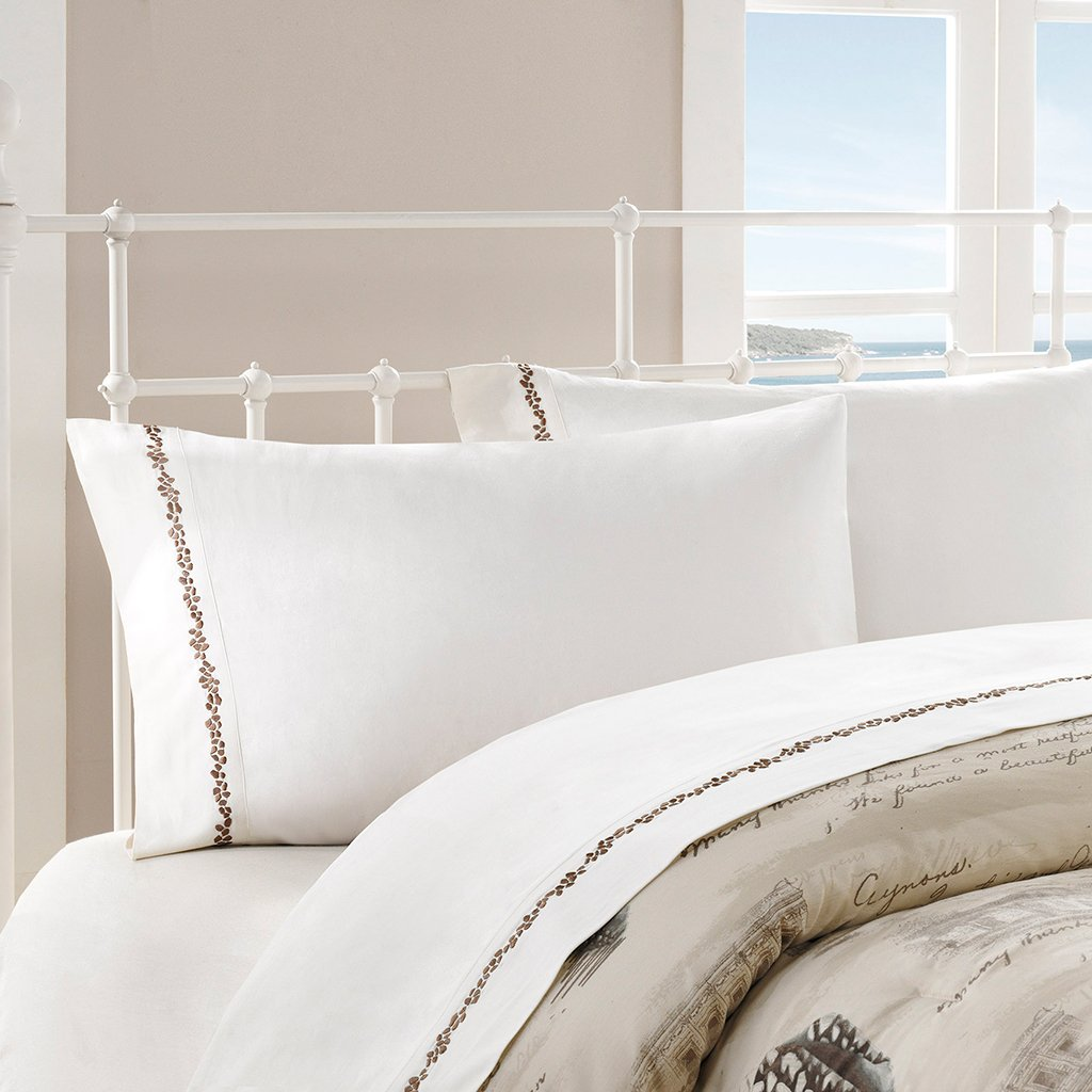 Harbor House Arabella Sheet Set, Queen, Ivory