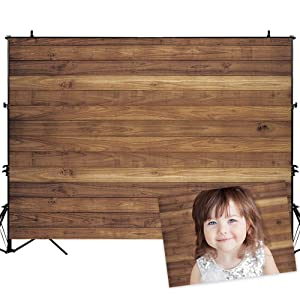 Allenjoy 7x5ft Rustic Wood Backdrop for Newborn or Products Photography Wooden Wall Background Baby Shower Birthday Party Banner Photo Studio Booth Props