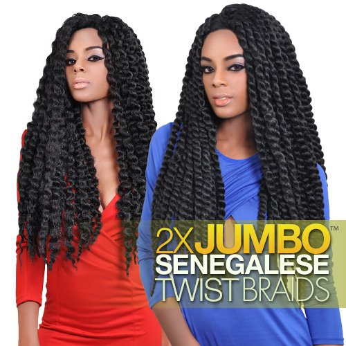 Authentic Synthetic Hair Crochet Braids 2x Jumbo