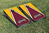 Cleveland Cavaliers NBA Basketball Cornhole Game Set Triangle Version
