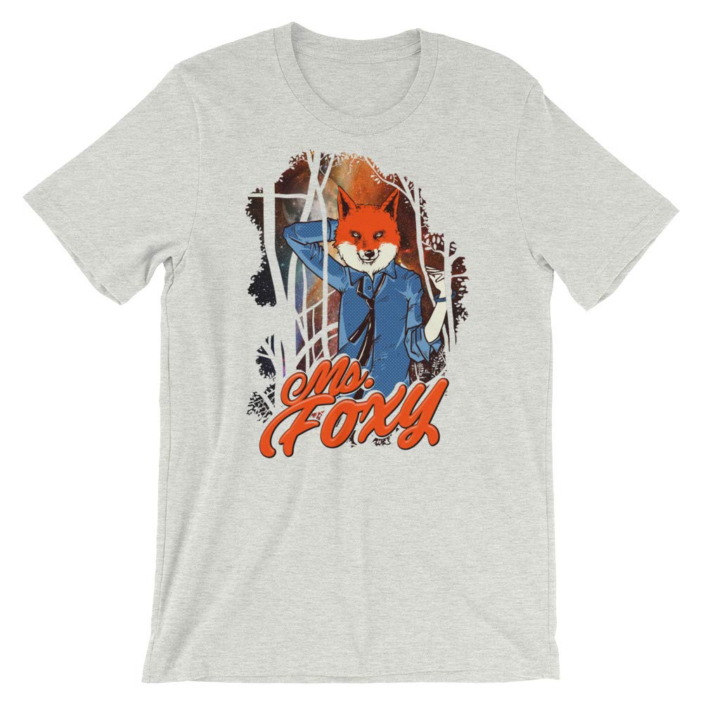 Spicy Cold Apparel Ms Foxy T-Shirt Graphic Shirts Funny Unisex Shirt