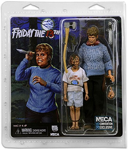 amazon com neca friday the 13th pamela voorhees young jason