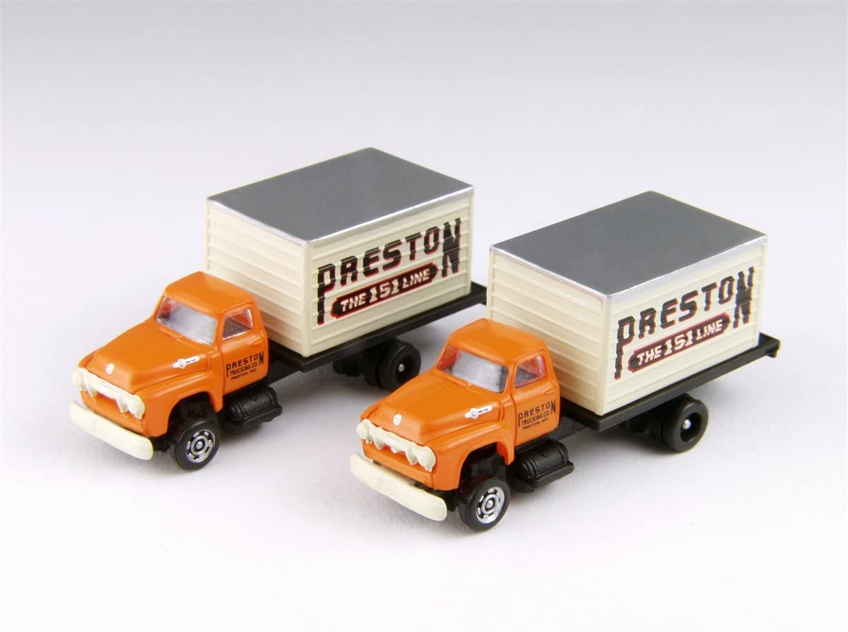 Classic Metal Works Mini Metals No Name Tractor Trailer        N scale