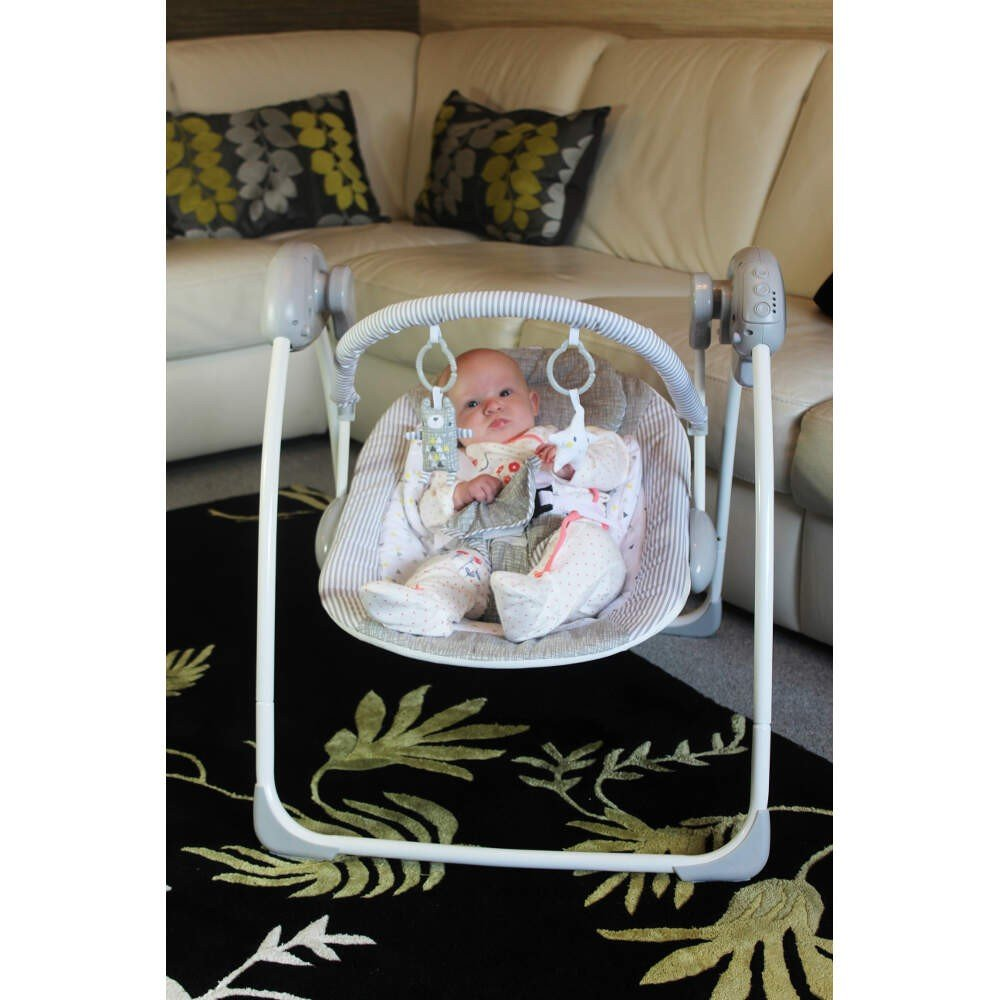 Suitable From Newborn RedKite Musical Lullaby Linen Collection Swing Including Rattles /& Squeakers Plus Roll /& Spin Bubble Balls Bundle