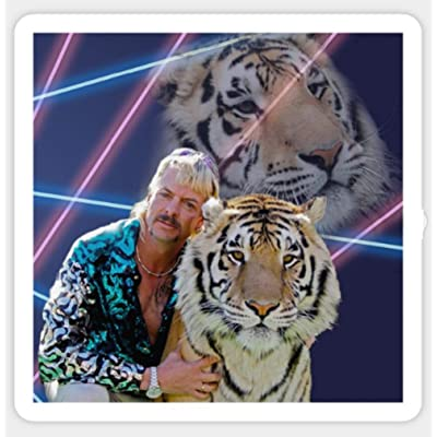 Joe Exotic and Tiger King Sticker Skateboard Car: Arts, Crafts & Sewing