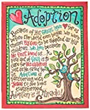 Glory Haus Adoption Table Top Canvas Art, 9 by 7-Inch