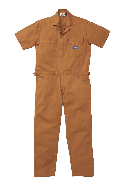 712 Dickies ディッキーズ 夏用 半袖つなぎ 作業着ツナギ ユニフォーム 【S~5Lサイズ展開】 B00HC8YJ14 S|オーディー
