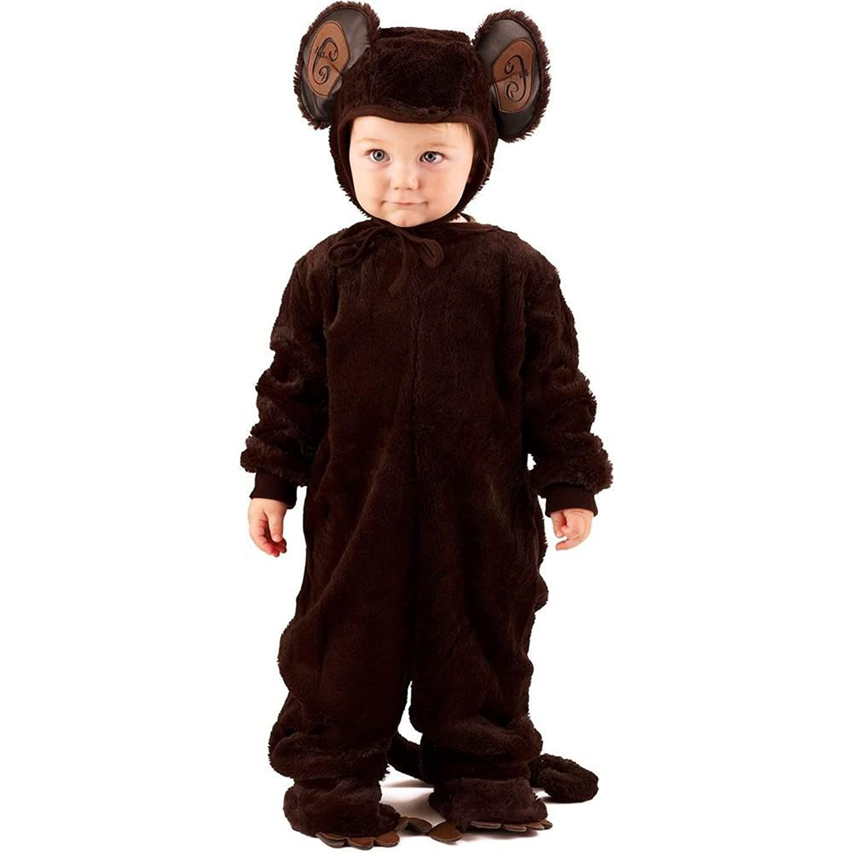 amazoncom plush monkey kids costume toys games - Halloween Monkey Costumes