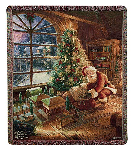 (Throws -Santa Delivering Tapestry Throw Blanket - 50