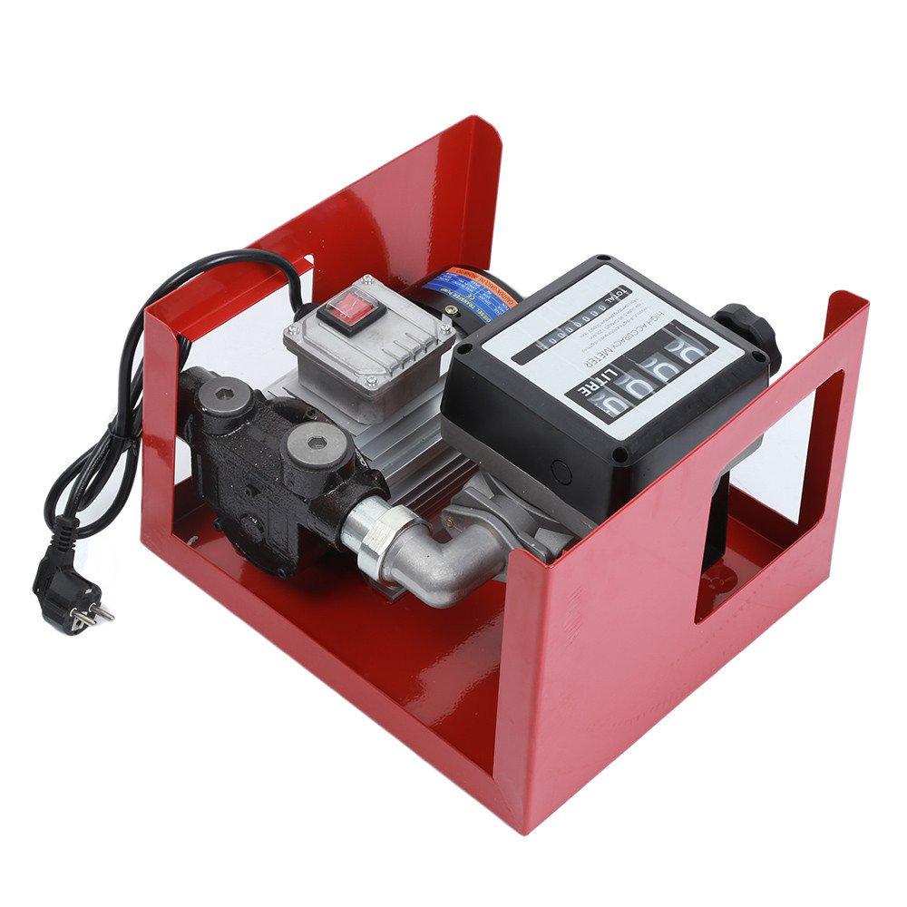 Pompa Gasolio Elettrica ,Pompa diesel,pompa di trasferimento autoadescante a combustibile elettrico, pompa di trasferimento diesel portatile, 230V / 550W, automobili Turefans