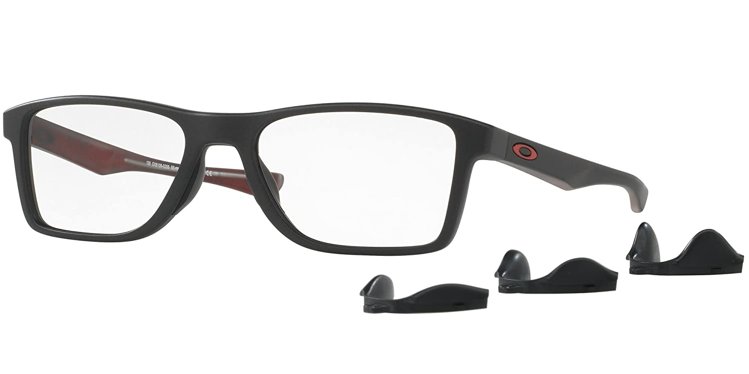 5774ae5025c Oakley Fin Box OX8108-0255 55-18 Glasses Frame at Amazon Men s Clothing  store