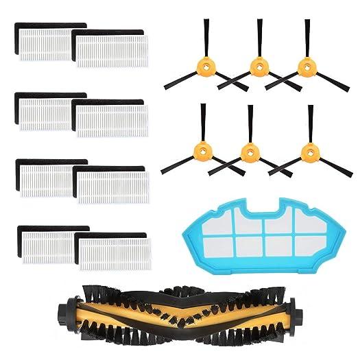 iAmoy Accesorios de Filtro de reemplazo,8 * Filtros + 6 * Cepillos ...