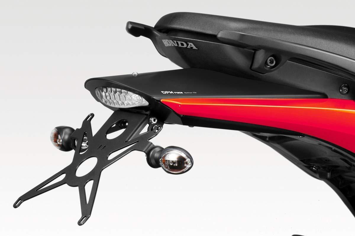Luz LED y Torniller/ía Incluido Accesorios De Pretto Moto Hornet 600 2007//10 R-0497A Kit Placa DPM - Soporte de Matricula Inclinaci/ón Ajustable - 100/% Made in Italy