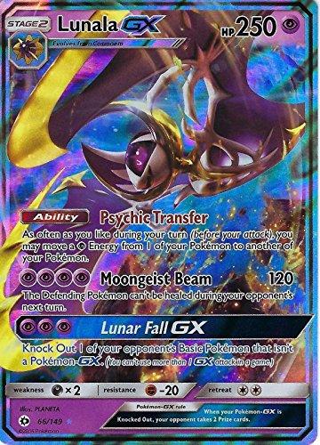 ポケモンカードゲーム 英語版 ルナアーラ/Pokemon Lunala GX 66/149 Sun & Moon