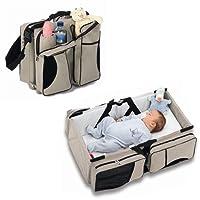 Zanza 3en 1Sac à langer Utility Pouch Voyage Berceau, pour couches pour bébés et les tout-petits (comme Nacelle et table à langer, portable, extensible