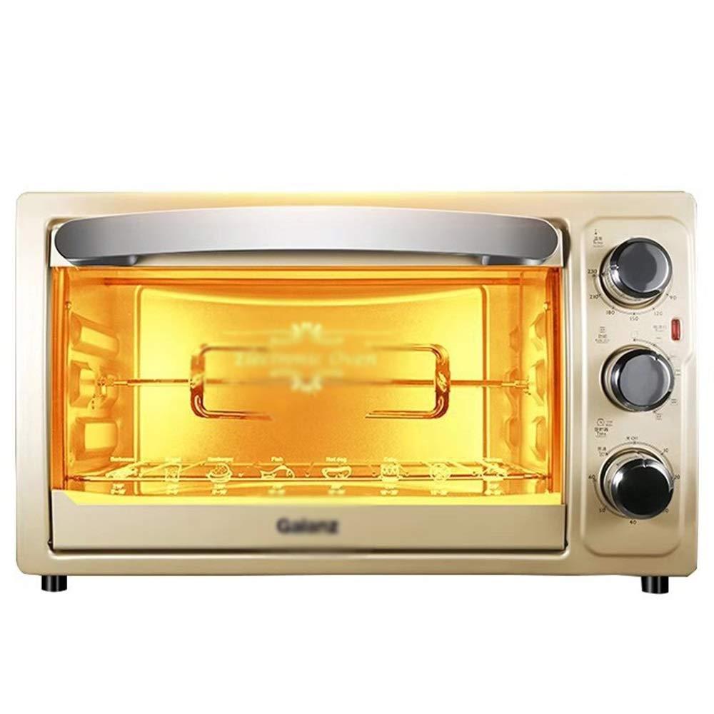 -46 THOR-YAN B07Q4LL9B4 オーブン ミニオーブン家庭用多機能オーブン家庭用電気オーブン家庭用30リットルローストロータリーフォーク電気オーブンキッチン電気オーブン