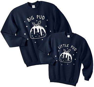 3d4d851e2 Amazon.com  Sanfran - Big Pud Little Pud Top Set Christmas Xmas ...
