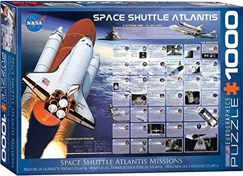 EuroGraphics Space Shuttle Atlantis Jigsaw Puzzle (1000-Piece)
