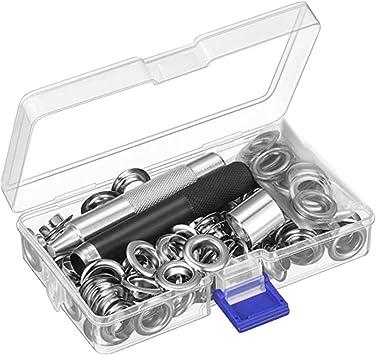 Kit de herramientas para hacer ojales de 12 mm, 100 piezas, con ...