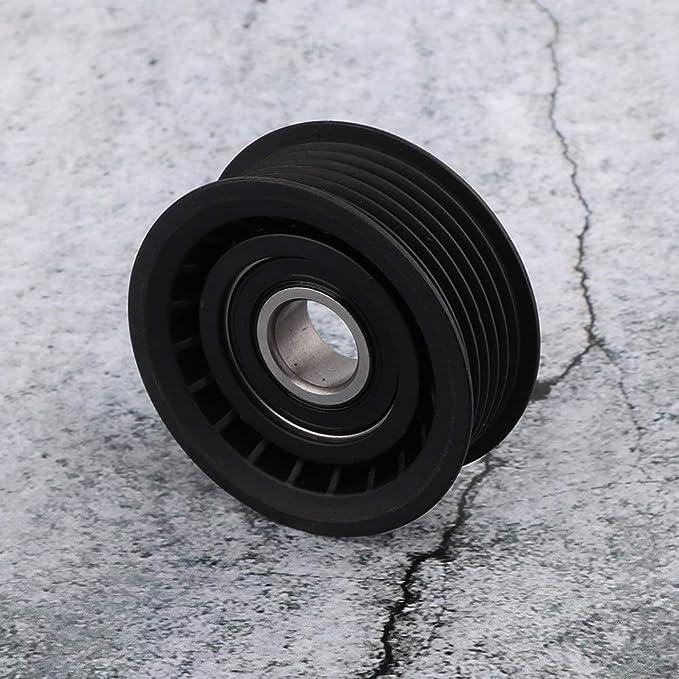 Akozon Belt Idler Pulley 0002020919 Serpentine Belt Idler Pulley for Mercedes-Benz C240 C280 C55 CL500 ML350 R500 SLK55