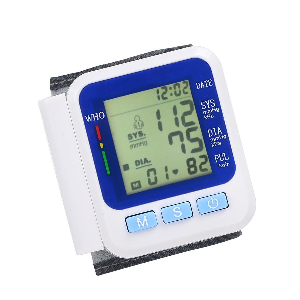 Amazon.com: LPY-Wrist Automatic Blood Pressure Monitor, 2 User Modes ...