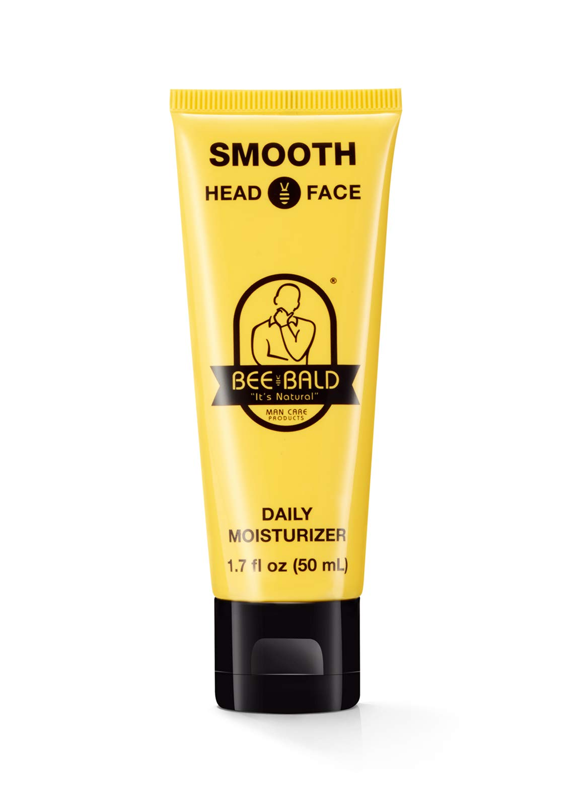 BEE BALD SMOOTH Daily Moisturizer tones, hydrates and moisturizes, smoothing away fine lines, wrinkles and dry patches and helps control oil and shine to feel cool, fresh and comfortable, 1.7 Fl. Oz.