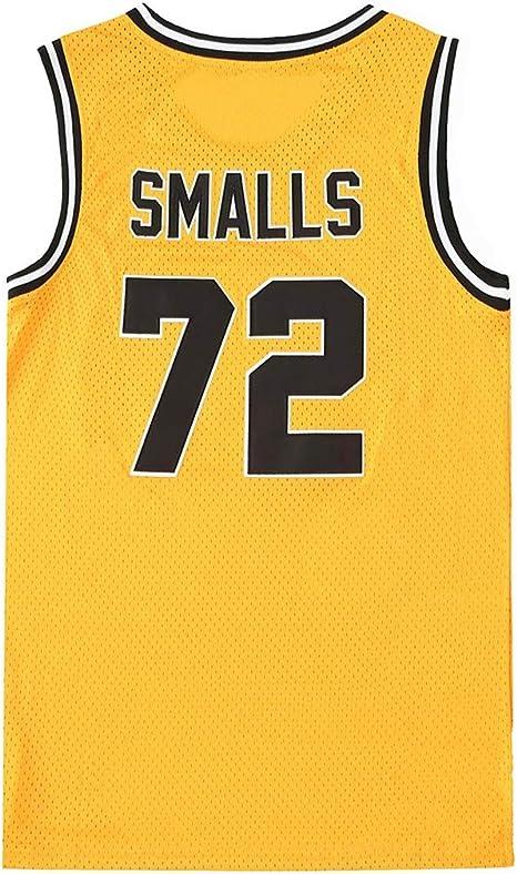Bad Boy Smalls 72# Baloncesto Jersey Película, NBA Camiseta sin ...