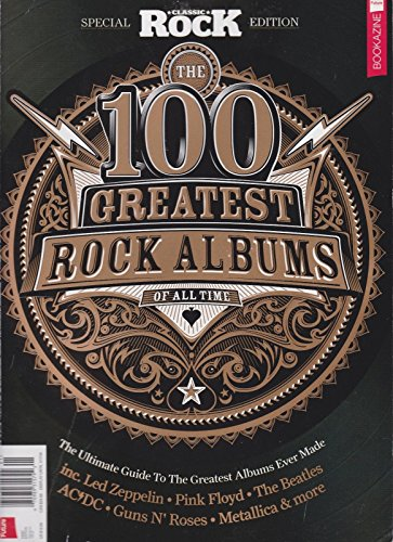 CLASSIC ROCK MAGAZINE #01 2018, THE 100 GREATEST ROCK ALBUMS OF ALL - International Usps Time Priority Mail