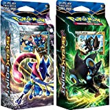 pokemon starter kit - Pokemon XY XY9 Breakpoint Decks Greninja & Luxray Theme Cards, Pack of 120