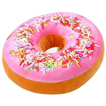 Exceptionnel Merlot12 Cartoon Doughnut Pillow Plush Sofa And Chair Back Cushions Car  Mats Student Toy Funny Donut
