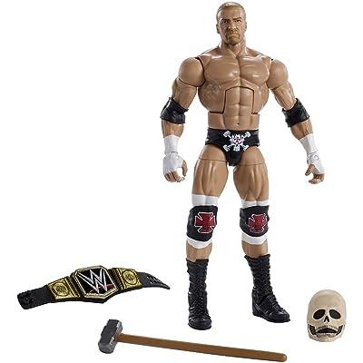 WWE Wrestlemania Elite Triple H Wrestlemania 32 Action Figure: Toys & Games