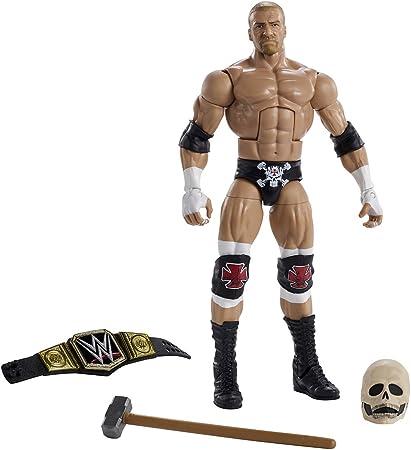 WWE Triple H Wrestlemania Elite Action Figure Mattel