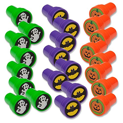 Scariest Halloween Costumes For Sale (Halloween Stamps; Includes: Bats, Ghosts, Pumpkins Pack of 24)