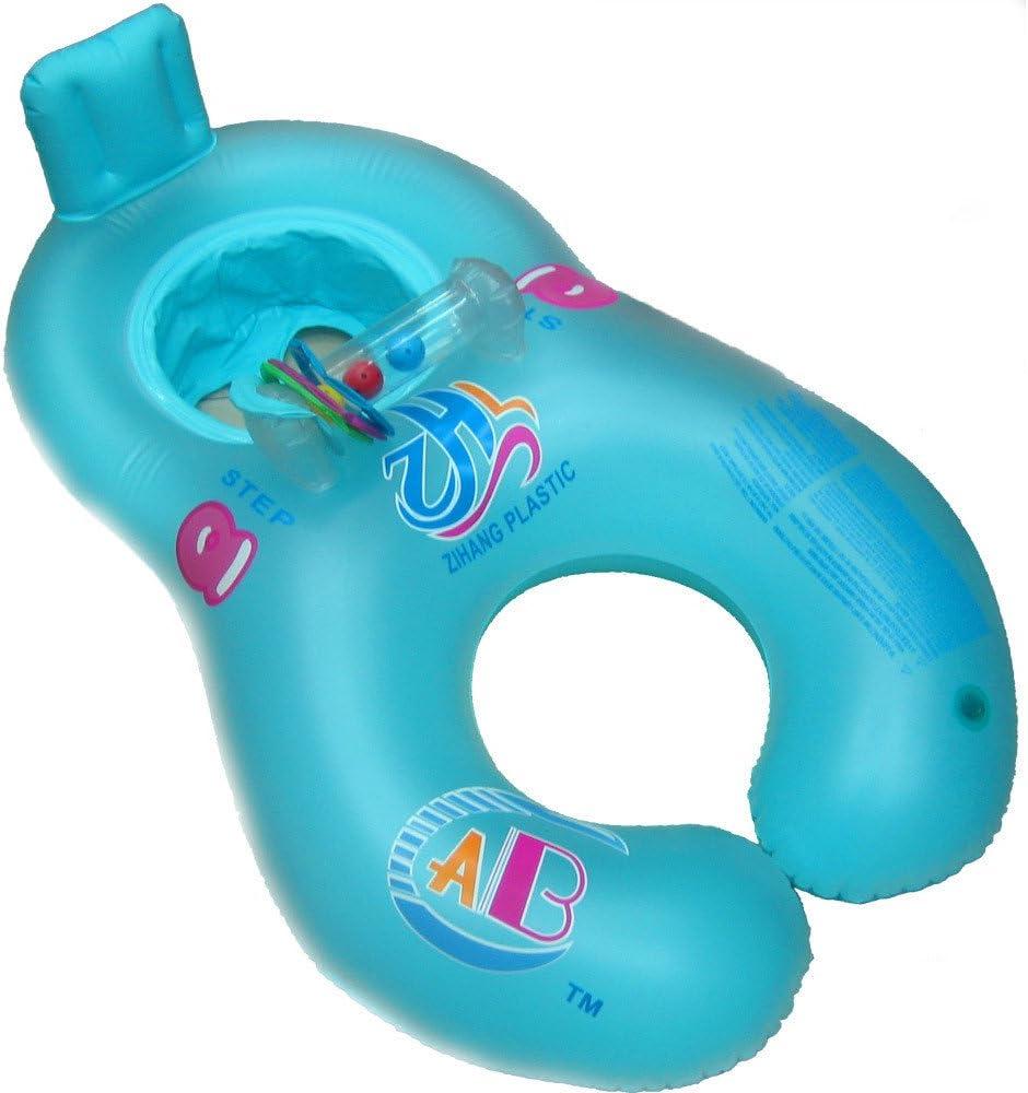 Amazon.com: Puxiaoa - Anillo hinchable para natación de bebé ...
