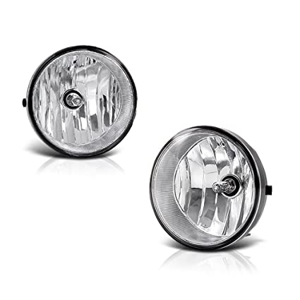 vipmotoz chrome housing oe-style front fog light driving lamp assembly for  toyota tacoma solara
