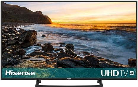 HISENSE 43B7300 TELEVISOR 43 UHD 4K HDR10+/HLG DVB-T2/T/C/S2/S Smart TV: Hisense: Amazon.es: Electrónica