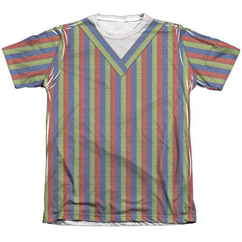 Sesame Street Bert Costume Mens Sublimation Shirt White Xl