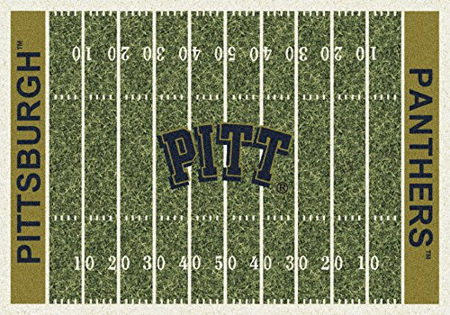 (NCAA Home Field Rug - Pittsburgh Panthers, 5'4