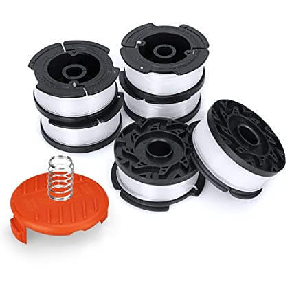 MiGaoMei Line String Trimmer Replacement Spool Compatible Black+Decker AF-100 String Trimmers,